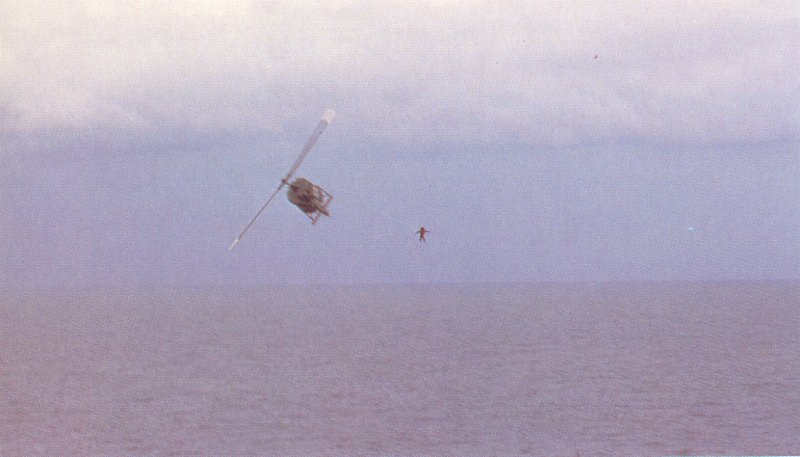 VNAF_pilot_jumps_into_the_sea_from_his_Huey