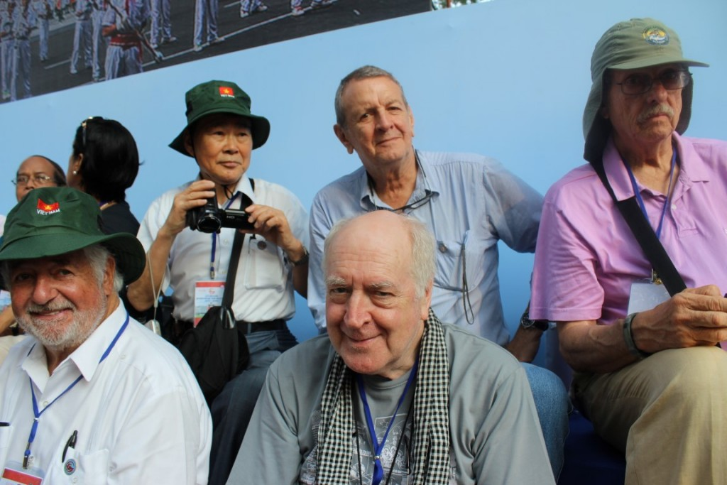 Loren Jenkins, Ishigaki Misao, Stewart Dalby, Barry Fox and George Lewis at 40th Anniversary Parade