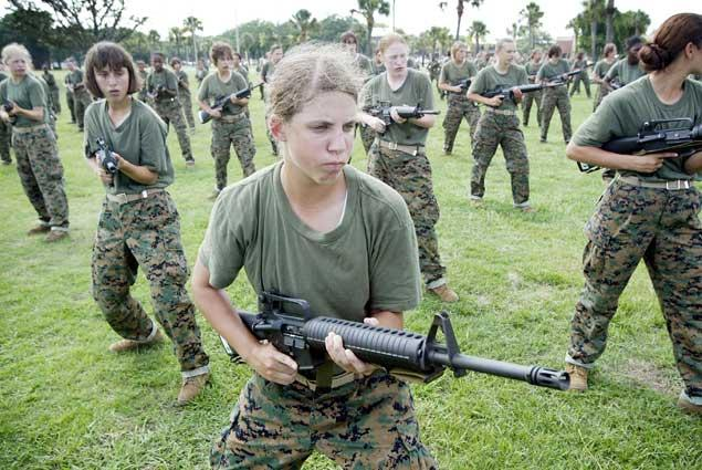 why females should be allowed in combat
