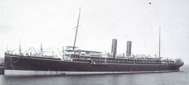 S.S. China 1895