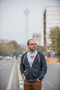 Hossein Derakhshan Photograph: Arash Ashoorinia for the Guardian